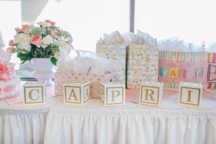 GIFT TABLE BABY SHOWER