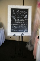 WELCOME SIGN BABY SHOWER