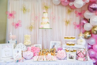 DESSERT TABLE BABY SHOWER